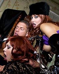 Three fetish ladies in...
