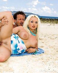 Amazing naughty blonde has...