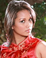 Asian babe Lana Violet...