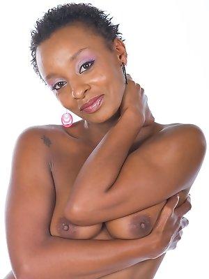 Ebony Babe Lala has an...