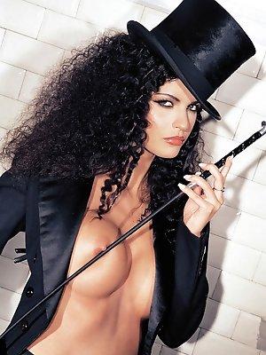 Sexy Helena Karel is horny...