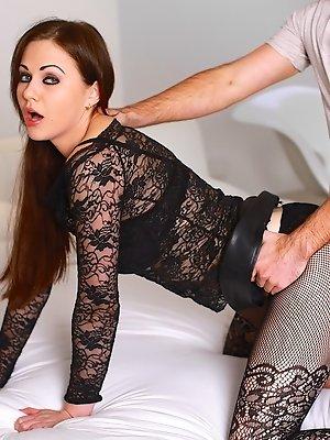 Tina Kay Has Her Ass Split...